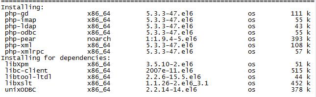 安装常用的php组件